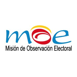 Logo Misión de Observación Electoral MOE