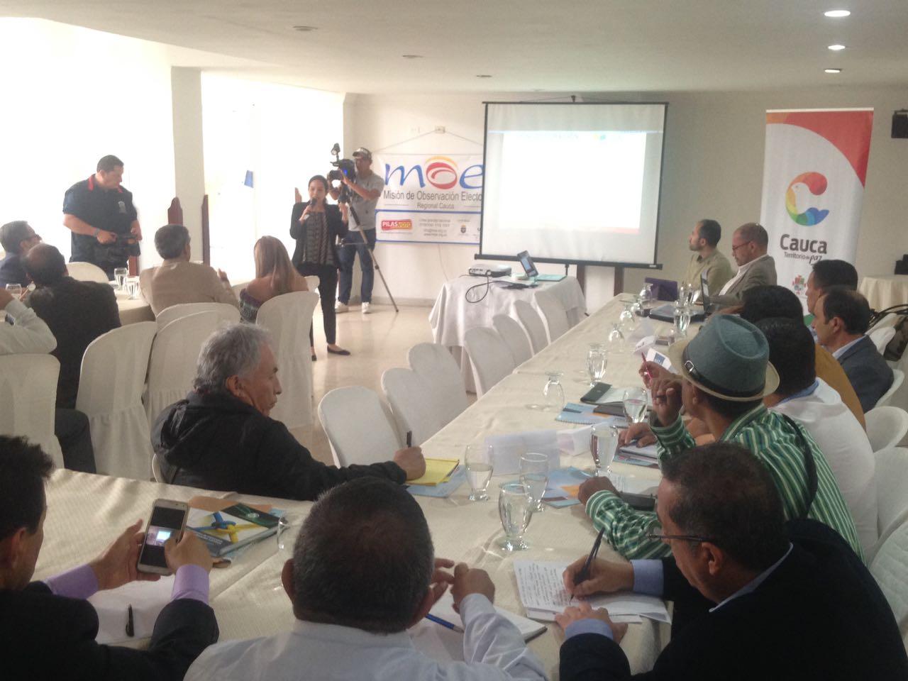 Misión Electoral Especial en el Cauca