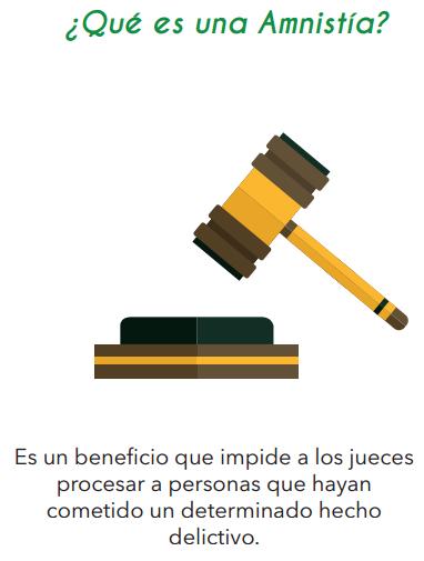 Tratamientos Penales Especiales, amnistía e indulto en el Acuerdo de Paz