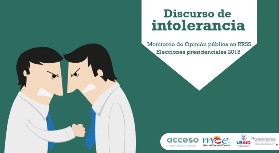 El 20% de la conversación sobre las elecciones en Colombia pasa por agresividad e intolerancia