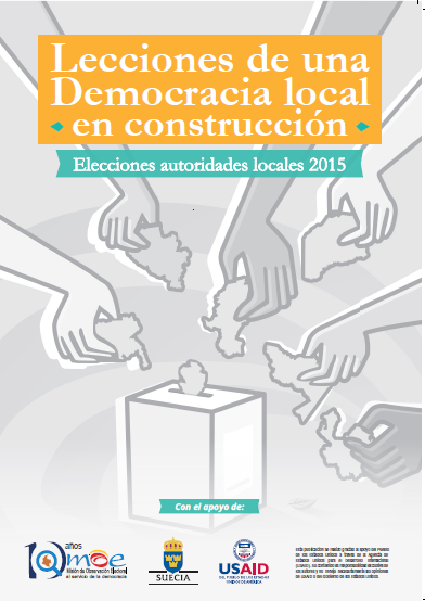 Informe Calidad Elecciones Autoridades Locales 2015