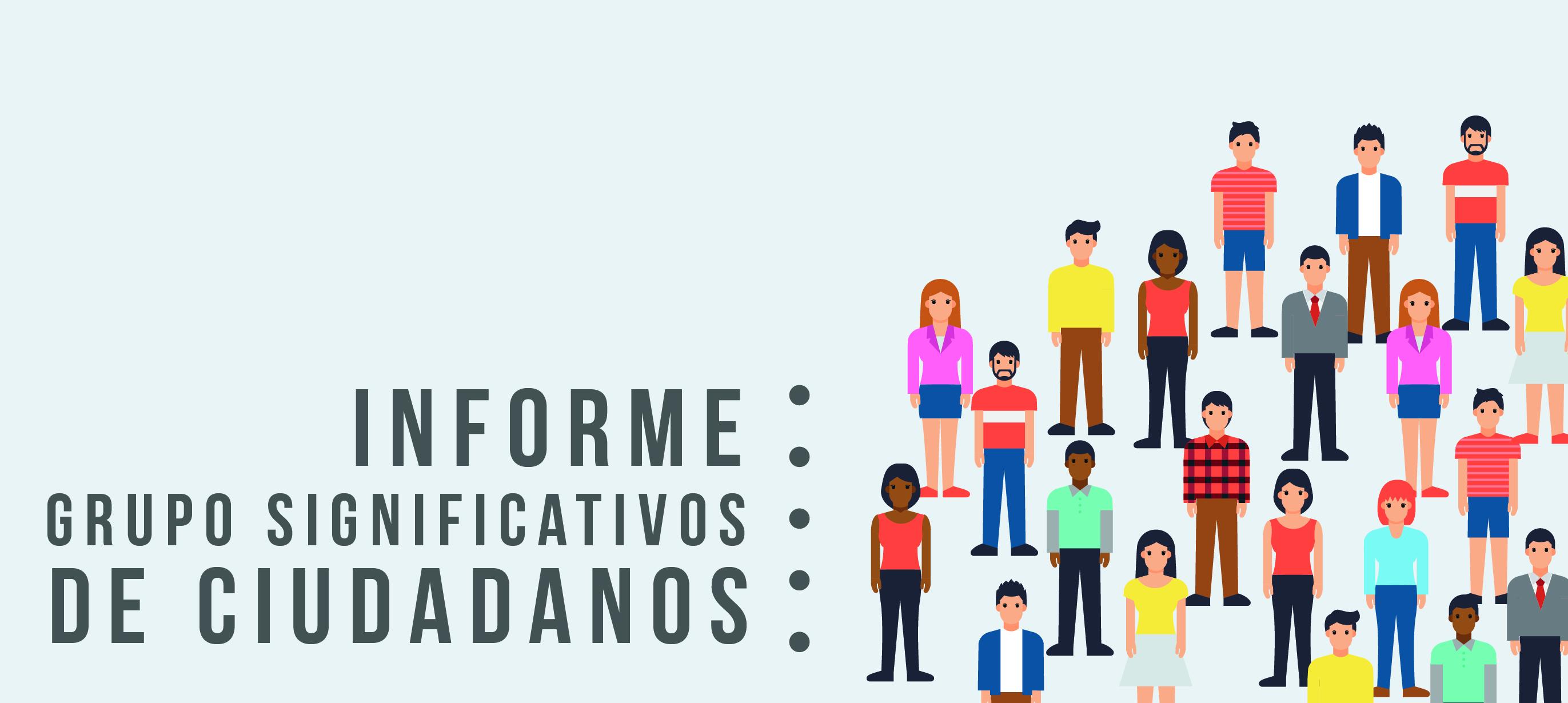 Resultados del proceso de inscripción de Grupos Significativos de Ciudadanos