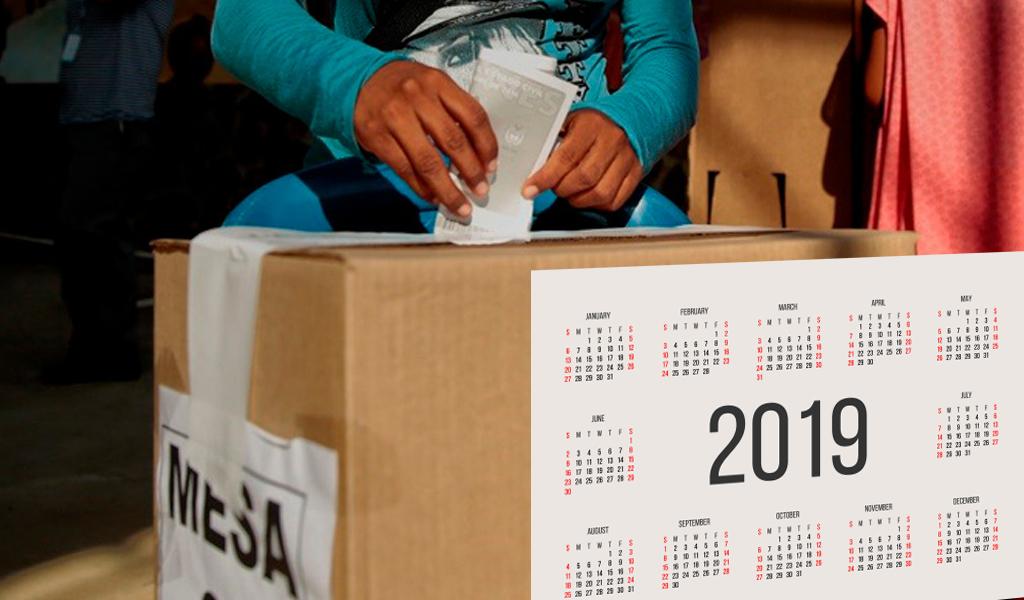 Los partidos políticos y sus campañas son los responsables por los disturbios de las elecciones