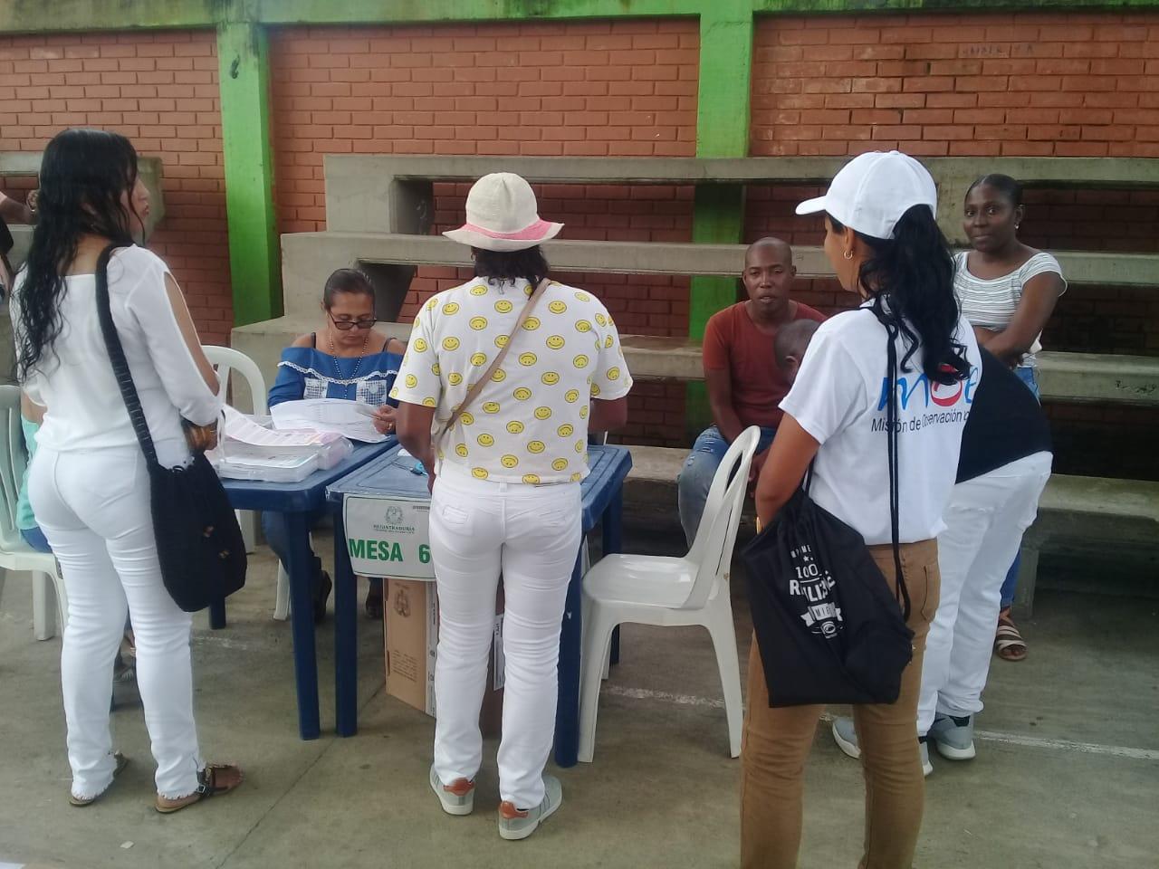 Informe MOE observación   Meta, Vaupés, Vichada, Guaviare y Amazonas