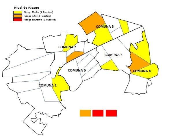 MOE solicita presencia de autoridades en 13 puestos de votación de Soacha