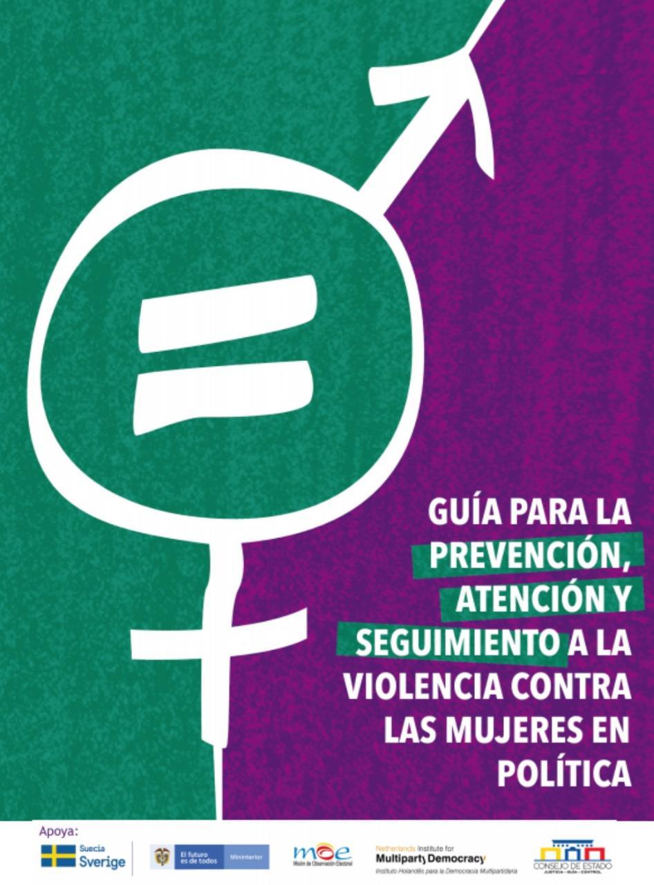 Guía para la prevención, atención y seguimiento a la violencia contra las mujeres en política