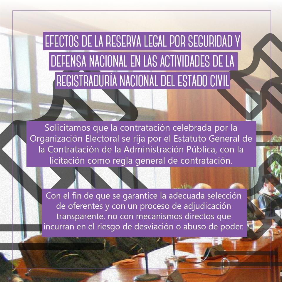 Intervención frente a la Corte constitucional sobre el código electoral