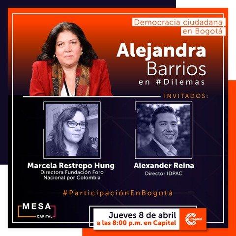 Dilemas: Democracia ciudadana en Bogotá