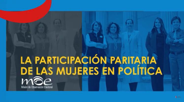 La participación paritaria de las mujeres en política