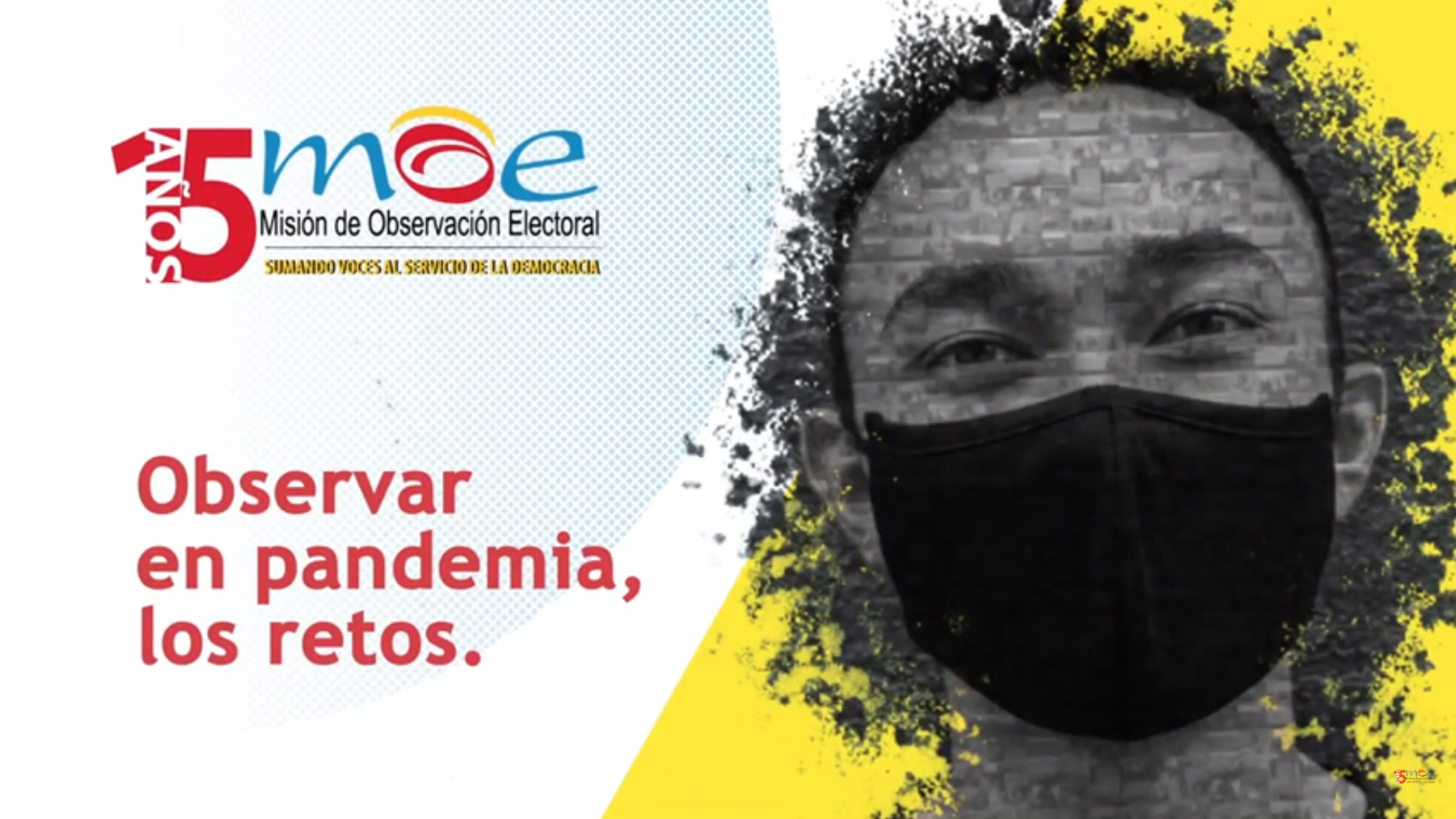 Observación electoral en pandemia