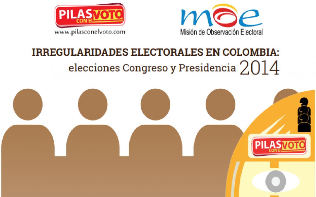 Irregularidades electorales en Colombia: elecciones Congreso y Presidencia 2014