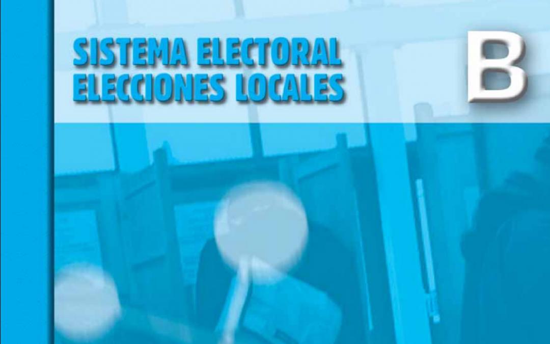 Sistema Electoral, Elecciones Locales 2011