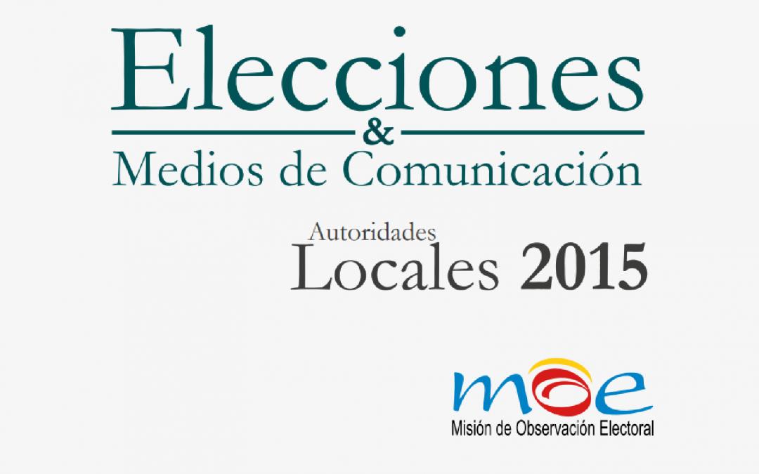 Elecciones y Medios de Comunicación 2015