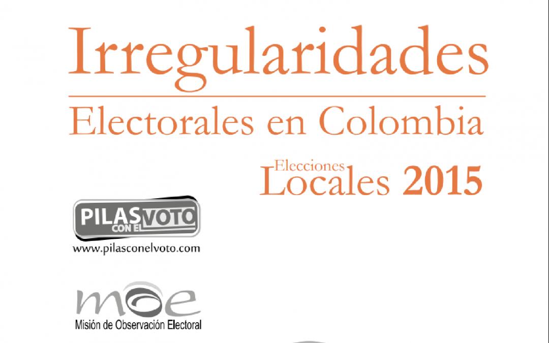 Irregularidades Electorales en Colombia 2015