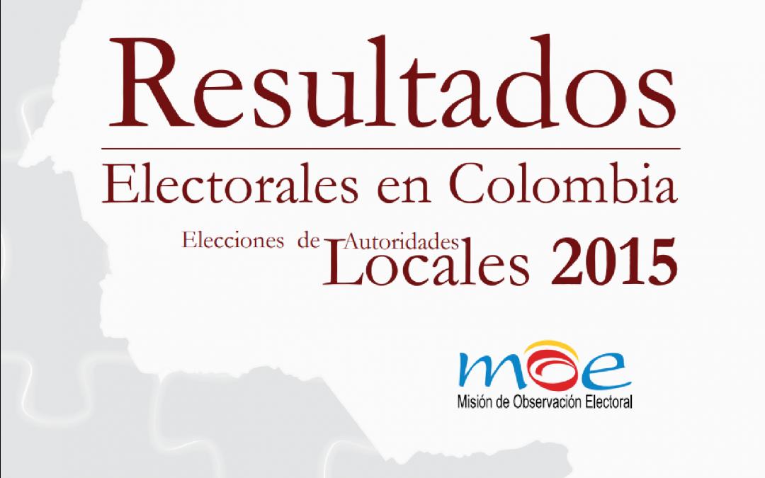 Resultados Electorales en Colombia 2015