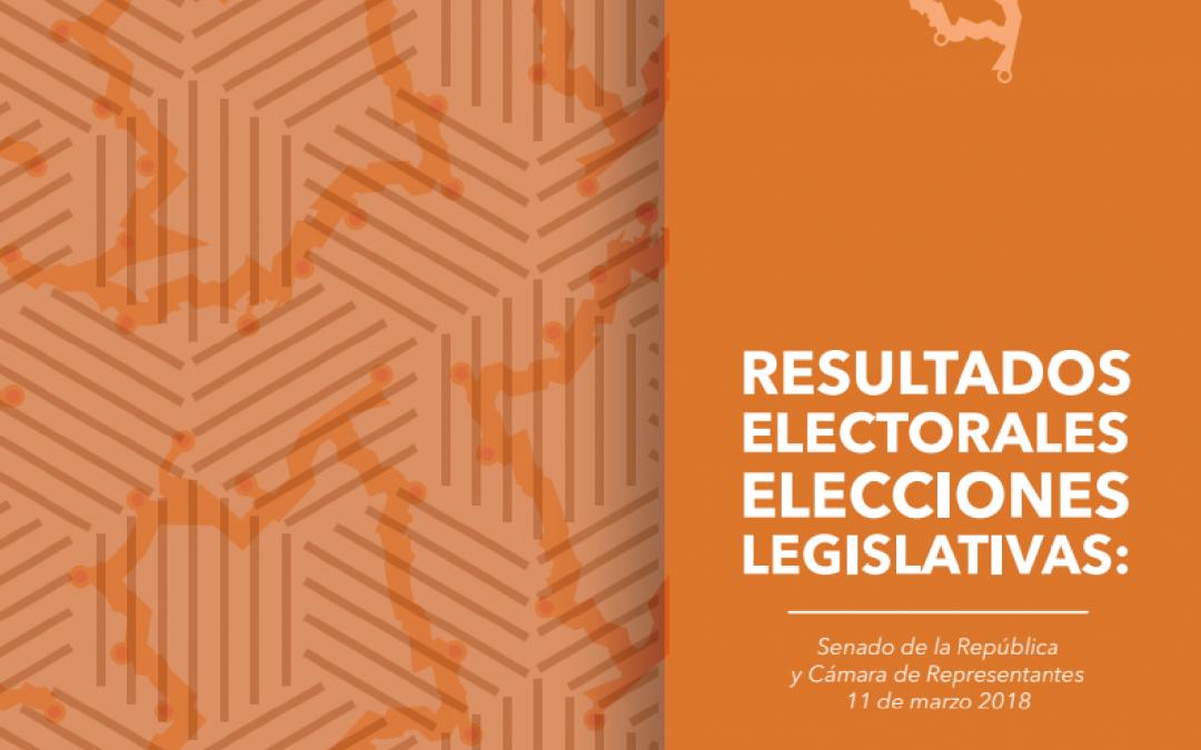 Resultados electorales elecciones legislativas 2018