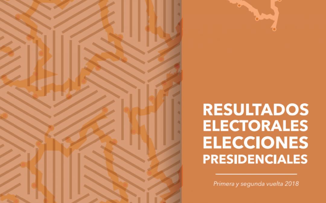 Resultados electorales elecciones Presidenciales 2018