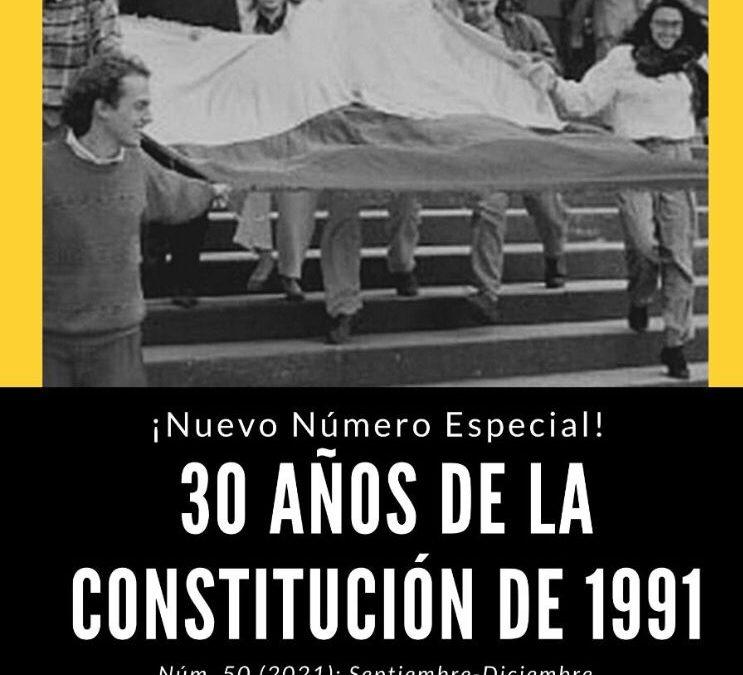 30 años de la constitución de 1991 – Revista Derecho del Estado
